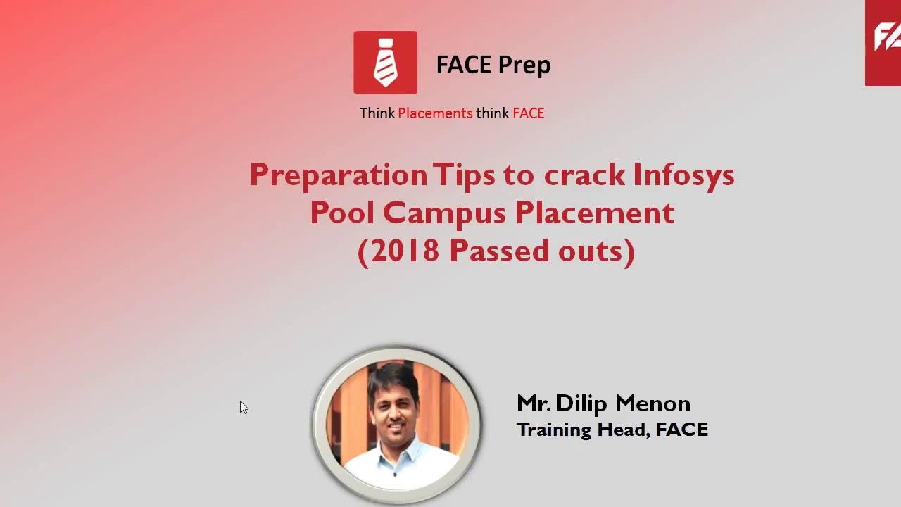 How To Crack Infosys Written Test And Interview Tips For Infosys Infosys Recruitment 2018