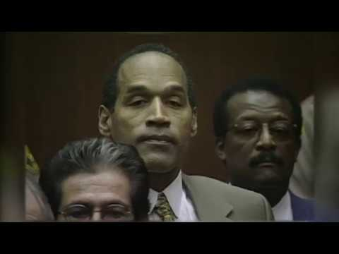 OJ Simpson Not Guilty Verdict 1995 - YouTube