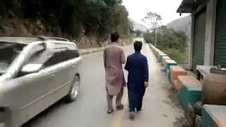 Bike accident in Swat