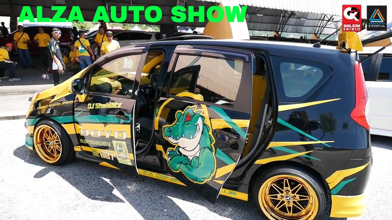 Perodua Alza Autoshow MPV, Apa mereka modified sebenarnya