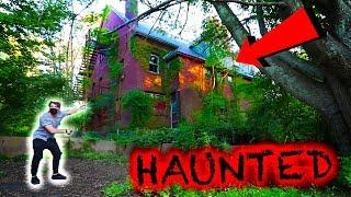HIDDEN HAUNTED SCHOOL IN FOREST! (Caught)