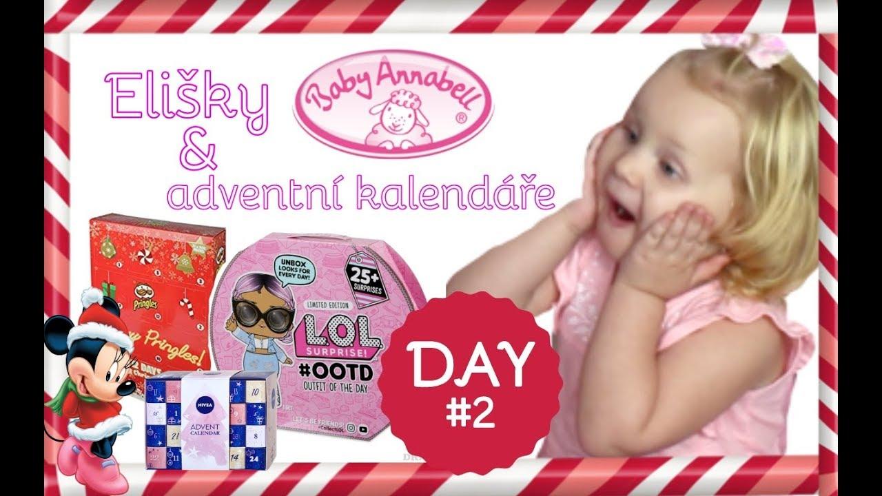 Adventní kalendáře & Baby Annabell Baby FUN|VLOGMAS #2 ...