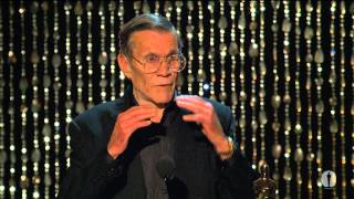 Hal Needham receives an Honorary Award at the 2012 Governors Awards