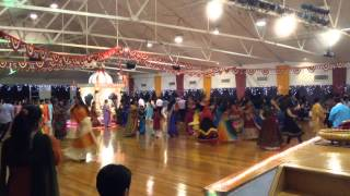 Auckland garba 2013 at Gandhi hall day 3