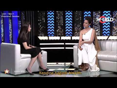 The Front Row with Anupama Chopra - Kangana Ranaut Türkçe Altyazılı Part 1