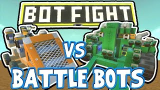 Scrap Mechanic - BATTLE BOTS CHALLENGE! VS AshDubh - [#42] | Gameplay