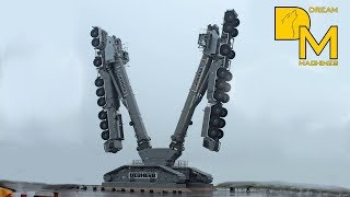 INSANE CRANE BEAST LIEBHERR ❢❢ 2x LTM 1750-9.1 ON CRAWLER TRACKS