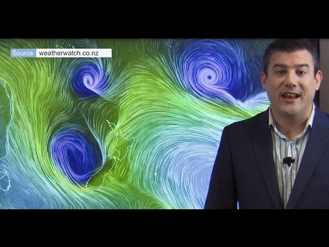 Cyclone Cook to affect most of NZ, landfall Thursday (12/04/17)