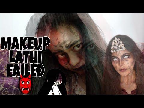 #makeuplathi-#lathichallenge-makeup-lathi-challenge-sara-fajira