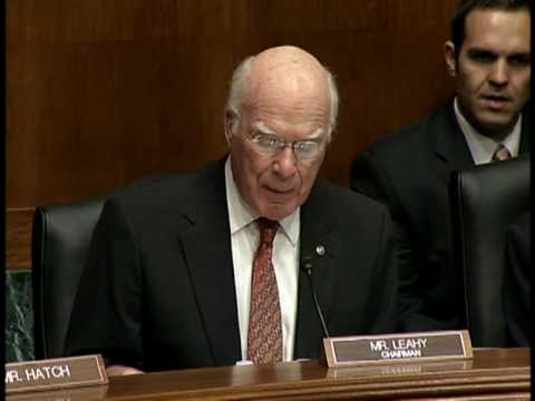 Leahy Holds Hearing To Repeal Health Insurance Antitrust Exe