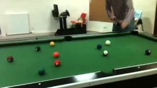 Me thrashing my mate at Pool. He hates it Lol