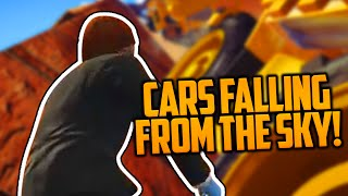 CARS FALLING FROM THE SKY (GTA 5 Funny Moments with Friends)