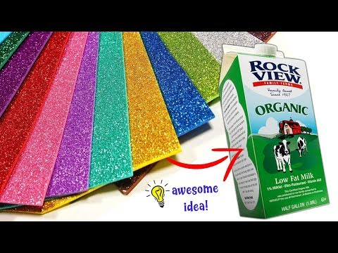 Best waste craft idea| how to recycle milk carton box| best out of waste