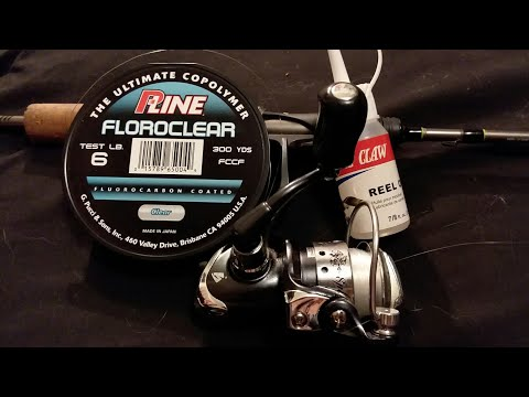 How to add line and re-oil to your fishing real