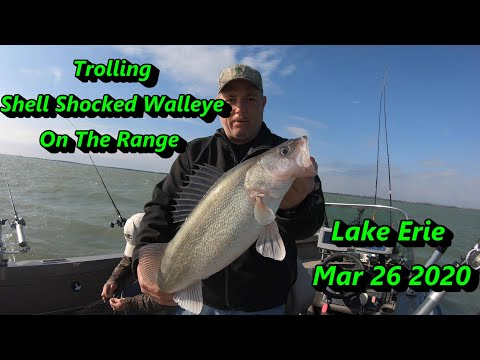 Trolling For Lake Erie Walleye Along The Edge Of The Firing Range Mar 26th 2020