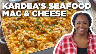 Kardea Brown's Seafood Mac and Cheese | Delicious Miss Brown | Food Network