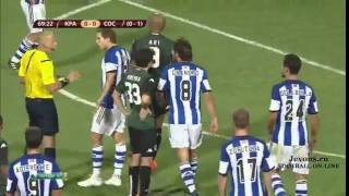 Краснодар-Реал Сосьедад 3:0 обзор матча