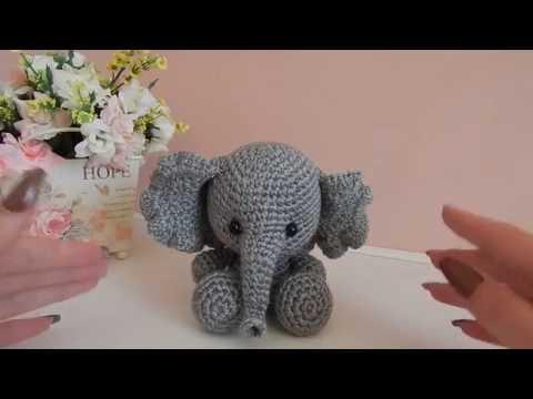 Розовый слоник схема крючком