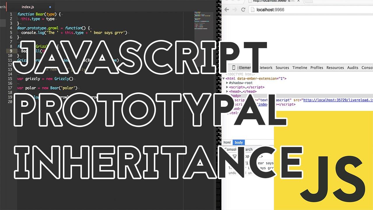 Javascript Prototypal Inheritance Youtube