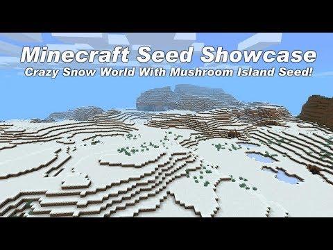minecraft mushroom biome seed xbox one
