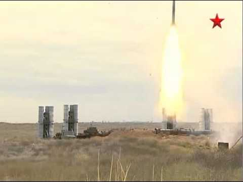 S-400 Triumf SAM In Action