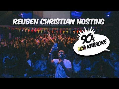 Reuben Christian - Hosting HS91 90's Karaoke @ The Garage, London