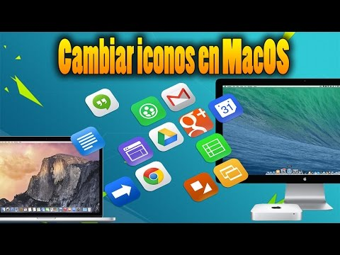 Cambiar iconos de los programas en MacOS Sierra