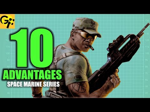 10 ADVANTAGES The UNSC Marines (HALO)  | BEST SPACE MARINE SERIES