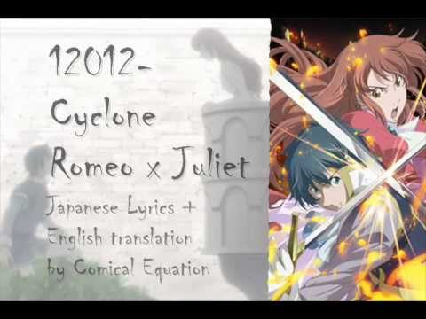12012 Cyclone English Translation + Japanese Lyrics HQ