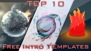 Top 10 2D & 3D Intro Templates for Sony Vegas 13-16