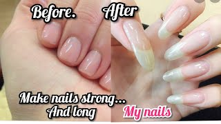How to grow nails in 5 min