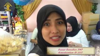 Bazaar ramadhan Dharma Wanita Persatuan Kemenkumham RI 2017