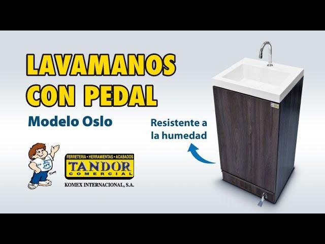 Módulo lavamanos con pedal modelo Oslo