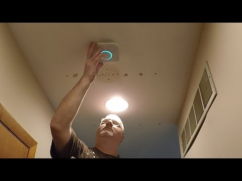 How to Install Nest Protect Smoke & CO Detector using an Old Work Electrical Box through your Home