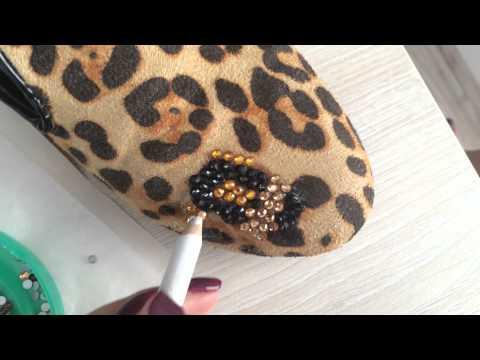 Мастер-класс от Crystalline.in.ua: Как украсить обувь стразами.