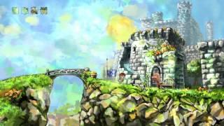 Braid - World 2 Walkthrough/All Puzzle Pieces