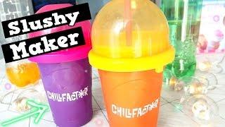 Chill Factor Slushy Maker Pomaranczowe I Cytrynowe Slushy Sorbet Theammisu Youtube