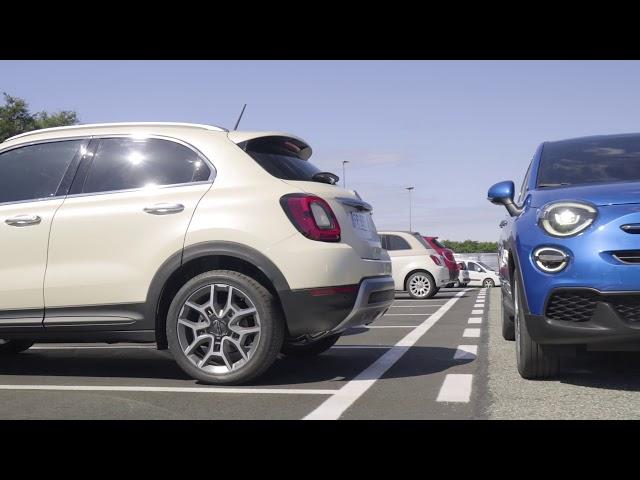 Der neue Fiat 500X – mit intelligenten Parksensoren