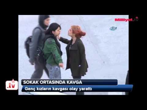 Girls Fight in Turkey,Ankara...