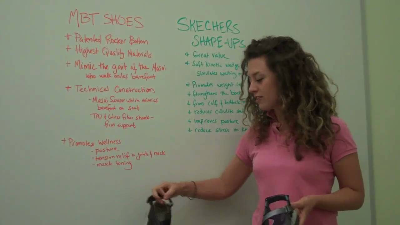Propio Dedicar Acompañar  Toning Shoes from MBT and Skechers Shape-Ups - YouTube