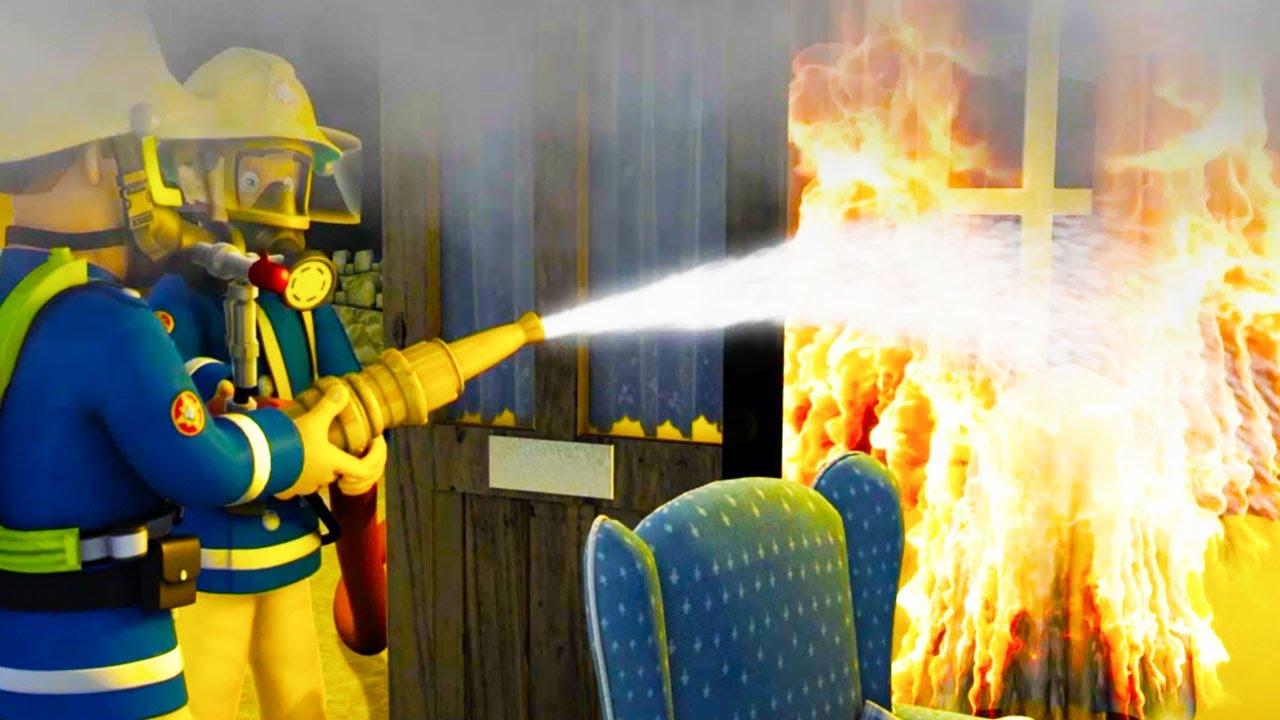 Sam le pompier francais la grande f te de pontypandy - Same le pompier francais ...