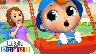 Yes Yes Playground Song | Little Angel Nursery Rhymes & Kids Songs