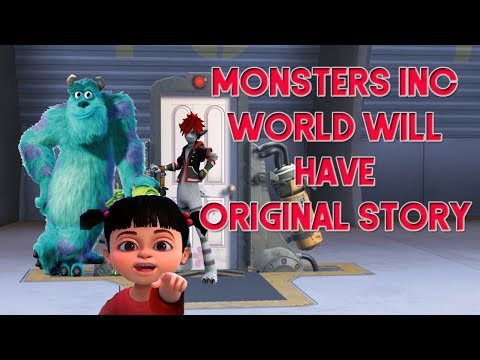 Kingdom Hearts 3 News - Monsters Inc World Will Have New Plot!
