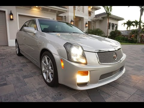 2006 Cadillac CTS V Sedan Review and Test Drive by Auto Europa Naples MercedesExpert com