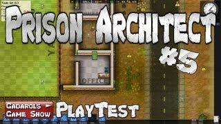 Prison Architect #05 Der Gefängnis Simulator und Manager deutsch HD