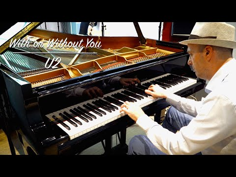 U2 - With Or Without You 4K piano cover