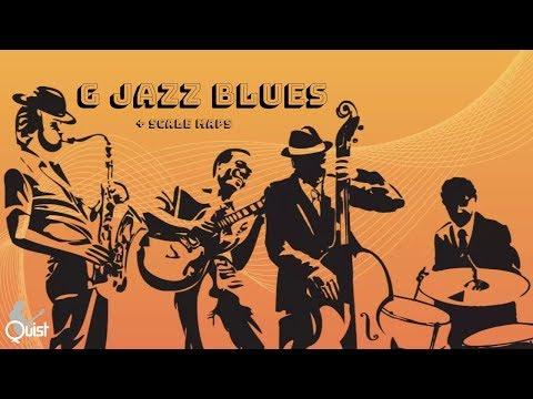 G Jazz Blues Backing Jam Track   Medium Up Swing