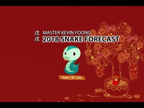 2018 Chinese Horoscope Snake Forecast by Master Kevin Foong