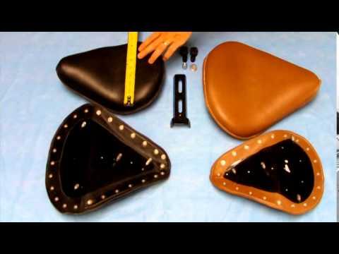 Ryca Motors Solo Bobber Seat Leather Youtube
