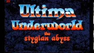 Ultima Underworld MT-32 OST - Ambient (Creepy)